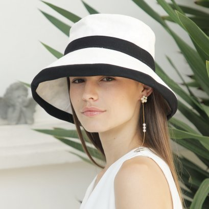 Super Madame Coco Hat (White)